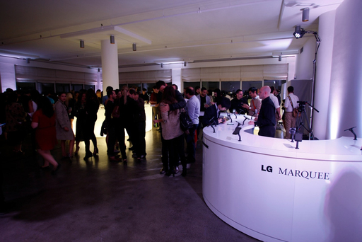 LG MARQUEE LAUNCH EVENT AT MADE FASHION WEEK 2011