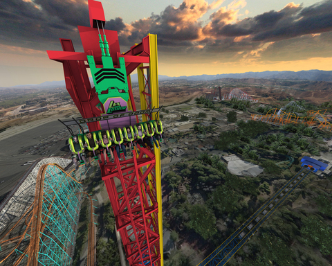 LEX LUTHOR: Drop of Doom, the world's tallest vertical drop thrill ride, will debut at Six Flags Magic Mountain in spring 2012.