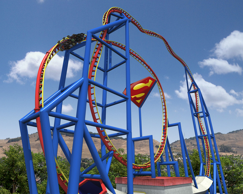 SUPERMAN Ultimate Flight, will debut at Six Flags Discovery Kingdom in Spring 2012 as the tallest inversion west of the Mississippi and the park's first DC-themed attraction.