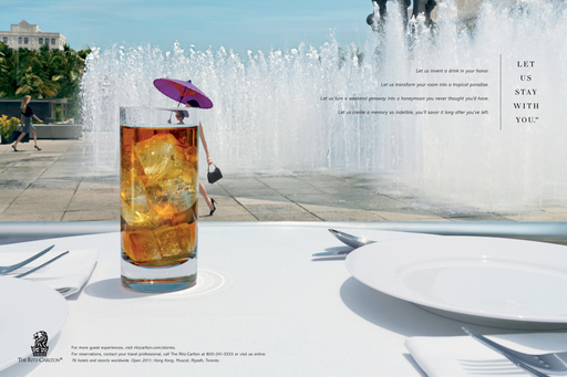 Unique to previous platforms used by The Ritz-Carlton, 'Let Us Stay With You' declares the company's clear point of view by defining those rare and special things that characterize true luxury.
