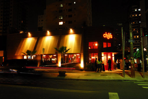 The hustle and bustle of Sao Paulo's Moema urban center is the perfect location for the first Chili's in Brazil.