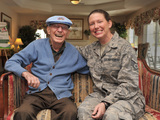 Hospice-volunteer-suzy-willis-ssgt-us-air-force-wwii-veteran-neil-johnson-sm