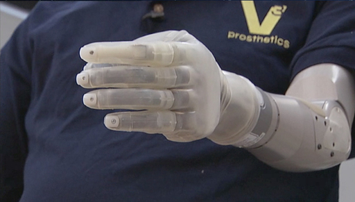 The DEKA Arm, a joint project between VA Research and the Department of Defense to build the most advanced prosthetic arm, highlighted at the 2012 VA Research Week Forum April 26th in DC.
