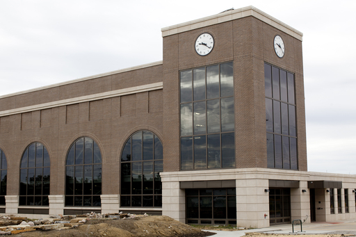 Eastern Illinois University's new Renewable Energy Center houses a biomass boiler that provides heat for buildings across the school's campus