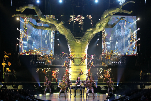 Show photos from Michael Jackson THE IMMORTAL World Tour by Cirque du Soleil