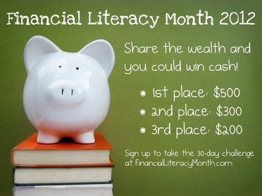 Win $500 with Financial Literacy Challenge!