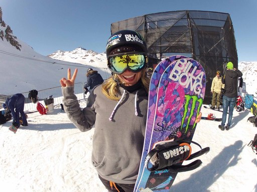 Congrats to Jamie Anderson taking home the gold!