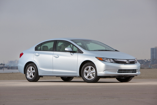 The 2012 Honda Civic Natural Gas is one of five finalists for the 2012 Green Car of the Year® from Green Car Journal. The winner will be announced at the L.A. Auto Show on Nov. 17.