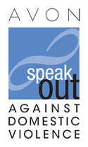 Avon Speak Out Against Domestic Violence logo