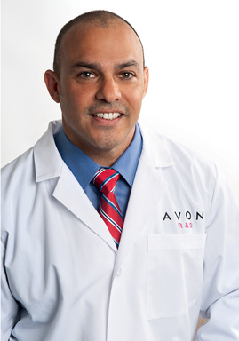 Anthony Gonzalez, Senior Skincare Manager, Avon Research & Development