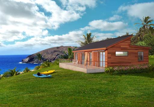Blu Homes are more than 30% more energy efficient than standard homes and can withstand Hawai'i 's severe weather from high winds and excessive rain to earthquakes.