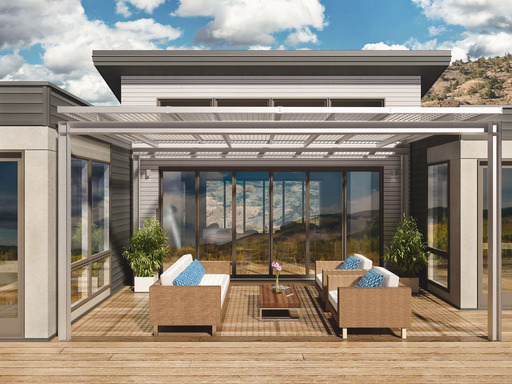 Blu Homes' First Model Home in Los Angeles, Designed Specifically for Southern California Living