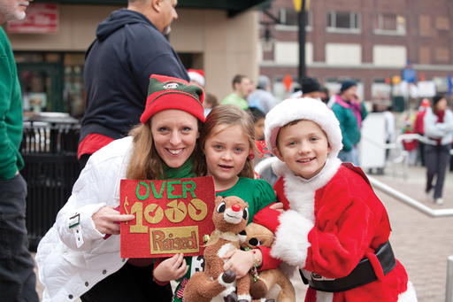 Jingle Bell Run/Walk raises funds to improve the lives of the 50 million Americans living with arthritis.