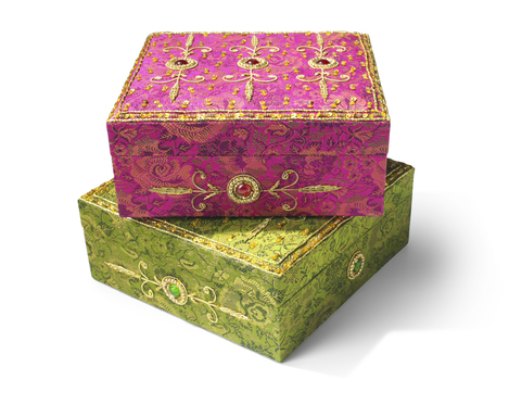 Hand-Crafted Decorative Boxes - $12.99 - compare at $18