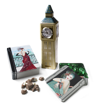 Fine Chocolates in Deorative Tins from England - $7.99 - $14.99 - compare at $10-$20