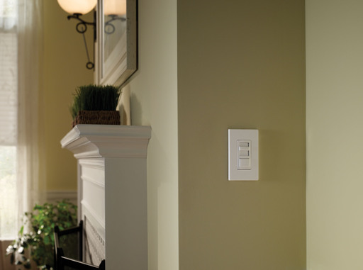 The Universal Dimmers are available in a host of colors – designed to enhance the décor of any room in the home.
