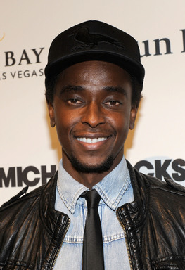 Actor Edi Gathegi arrives at the Las Vegas premiere of Michael Jackson THE IMMORTAL World Tour by Cirque du Soleil at the Mandalay Bay Resort & Casino.  (Photo by Ethan Miller/Getty Images for Cirque du Soleil)