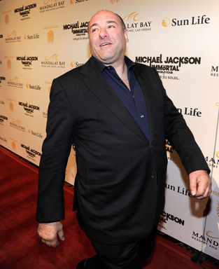 Actor James Gandolfini arrives at the Las Vegas premiere of Michael Jackson THE IMMORTAL World Tour by Cirque du Soleil at the Mandalay Bay Resort & Casino.  (Photo by Ethan Miller/Getty Images for Cirque du Soleil)