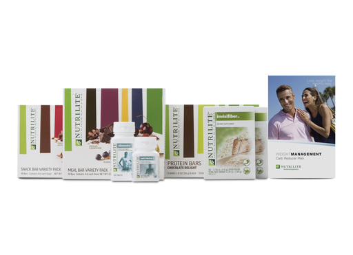 Amway's NUTRILITE® Weight Management program offers Carb Reducer™, Fat Trimmer™ or Better Balancer™ plans, personalized to the Inherent Health® Weight Management Genetic Test.