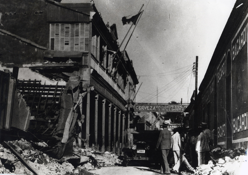 Aftermath of Santiago de Cuba 1932 earthquake. BACARDI rum creator Don Facundo Bacardí Massó began the CR spirit when he organized relief efforts in Cuba after an 1852 earthquake.