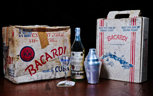 In Cuba during the 1940s-50s, Bacardi was well-known for its branded cardboard box pack to transport BACARDI rum bottles safely on an airplane.