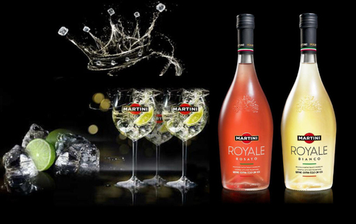 MARTINI Royale is available now in convenient ready-to-serve bottles. Just pour over ice and enjoy.