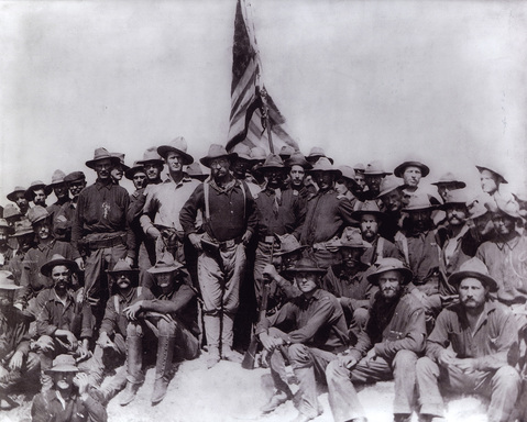 The Spanish-American War brought many Americans to Cuba, including future U.S. President Theodore Roosevelt, then a Colonel in his regiment popularly known as the Rough Riders.
