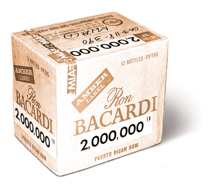 By 1968, selling a record 2 million cases in 8 years, Bacardi outsold all other spirits in the U.S. market. By 1979, BACARDÍ rum was the world's #1 premium spirit brand.