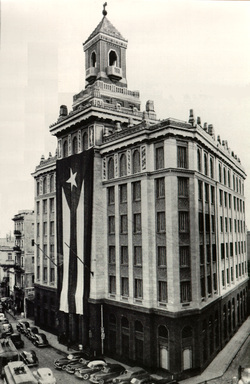The Edificio Bacardi sales office was Havana's first skyscraper. The building stands as a reminder of the Cuban government's critical error in 1960; repercussions live on today.