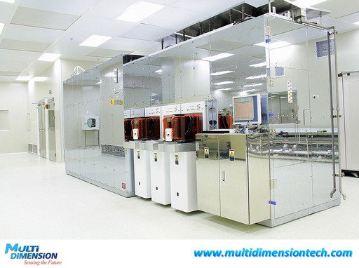 MDT's advanced TMR sensor manufacturing facility: magnetic annealing oven.