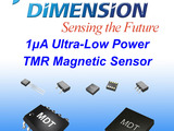 MDT offers 1uA ultra-low power TMR magnetic sensors.