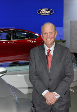 Don Chalmers, chairman of NADA's Government Relations Committee and a Ford dealer, attends the Washington Auto Show's Public Policy Day on Jan. 31, 2013.