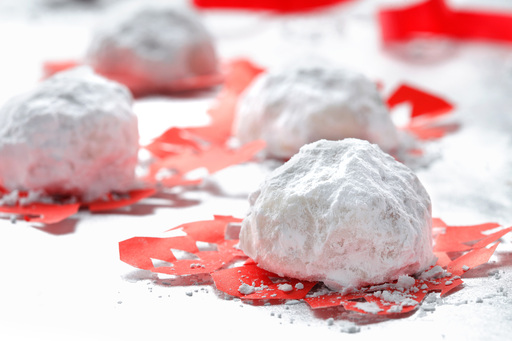 When the weather outside is frightful, satisfy your sweet tooth in the kitchen with these festive snowballs. Canola oil highlights the delicious apricot, almond and vanilla flavors!