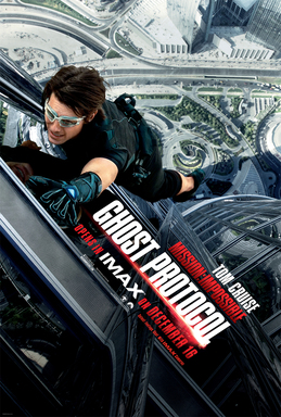 Mission: Impossible – Ghost Protocol The IMAX Experience One-Sheet Art