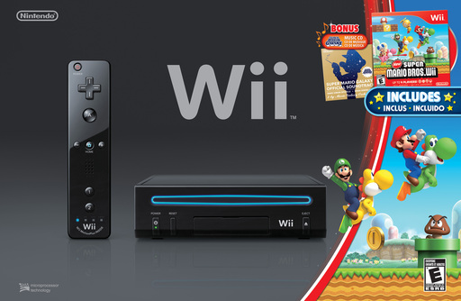 New Super Mario Bros. Wii bundle