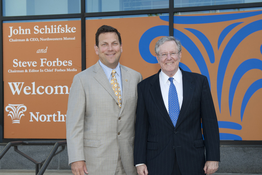 "John Schlifske, Chairman and CEO of Northwestern Mutual, and Steve Forbes, will participate in ""The Power of a Game Plan"" discussion tour."