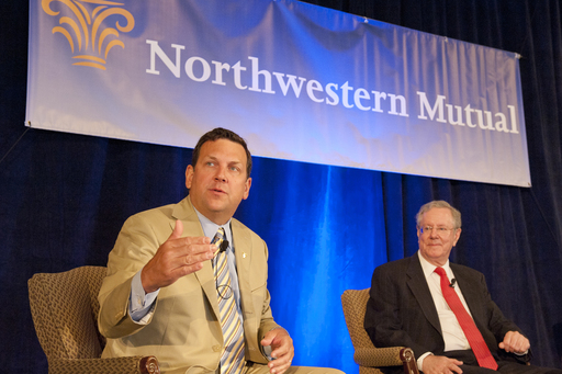 John Schlifske, Chairman and CEO of Northwestern Mutual, and Steve Forbes, discuss the economy, the markets and the importance of having a sound financial game plan in place (May 2011).
