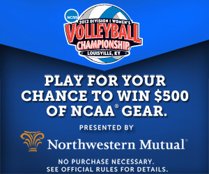 Northwestern Mutual unveils NCAA® Bracket Contest for Women's Volleyball