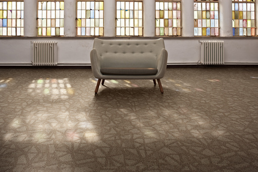 Desso's new New innovative CARPETECTURE® collection Patterns@Play gives identity to large spaces - Mosaic 1958.
