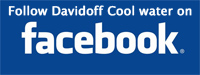 Follow Davidoff Cool Water on Facebook