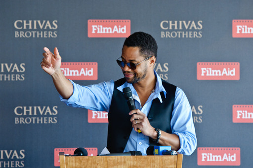 Cuba Gooding Jnr Speaking at Cannes on behalf of FilmAid