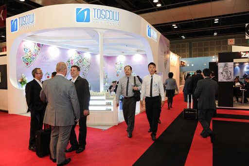 Exhibitor booth – TFWA Asia Pacific & GATE ONE2ONE 2012