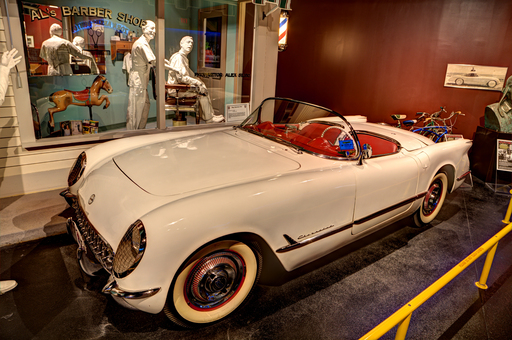 Only 300 Corvettes were made in the first year of production in 1953. According to the National Insurance Crime Bureau, three were reported stolen over the years.
