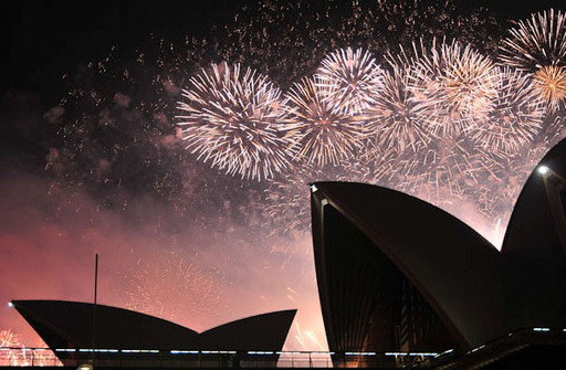 Sydney New Year's Eve 2011/2012. Credit: Courtesy City of Sydney.