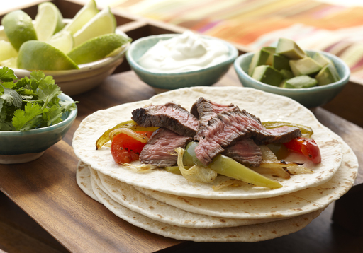 These Beef Fajitas are not only a flavorful dish but high in plant sterols as well, making this a heart-healthy meal.
