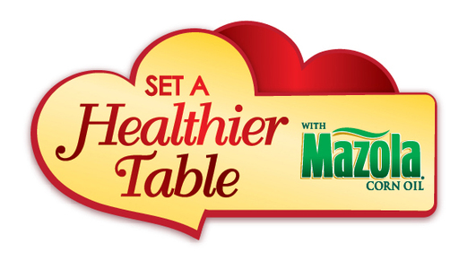 "Mazola and WomenHeart have partnered to create the ""Set a Healthier Table"" program encouraging Americans to take a pledge to set a healthier table to manage their family's cholesterol."