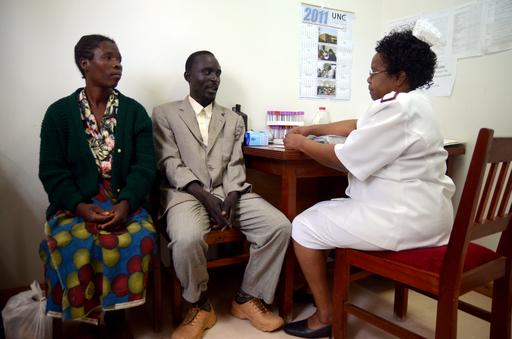 All couples enrolled in HPTN 052 received HIV-related care and counseling.