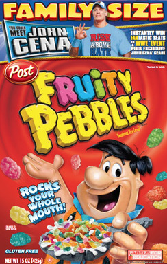 Fruity Pebbles John Cena Box