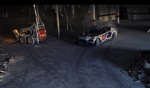 Genesis Coupe Drift Car Heist from Hyundai Headquarters featuring Rhys Millen