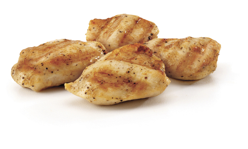 These gluten-free Grilled Nuggets are made from a boneless, skinless breast of chicken tumbled in a salt and pepper spice blend and then grilled to perfection.